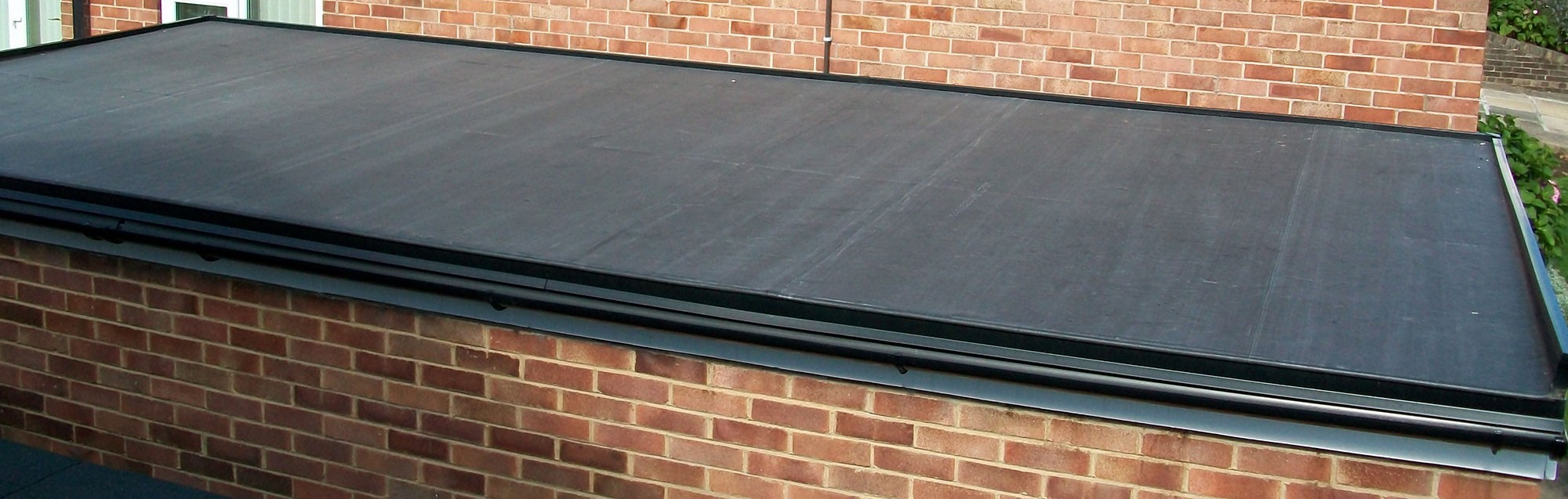 Rubber roof system